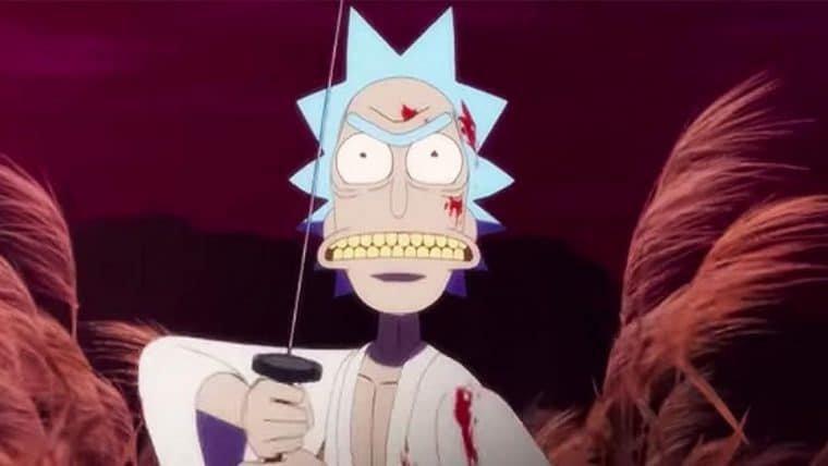 Rick and Morty | Diretor publica rascunhos do curta inspirado em Lobo Solitário