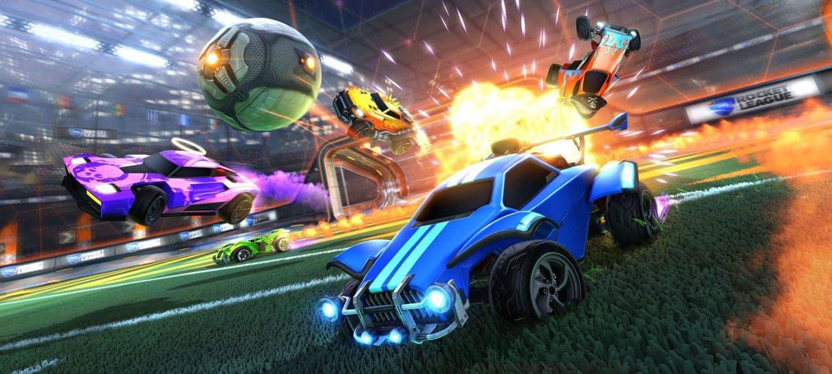 Rocket League não exigirá mais PS Plus ou Nintendo Switch Online
