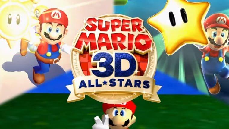 Super Mario 64, Super Mario Sunshine e Super Mario Galaxy ganham versões remasterizadas