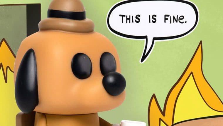 Meme do This is Fine ganha versão Funko Pop!