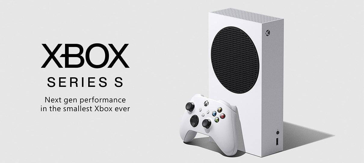 Xbox Series S tem visual e preço revelados