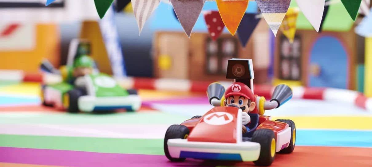 Mario Kart Live: Home Circuit fica muito mais difícil com gatos em casa