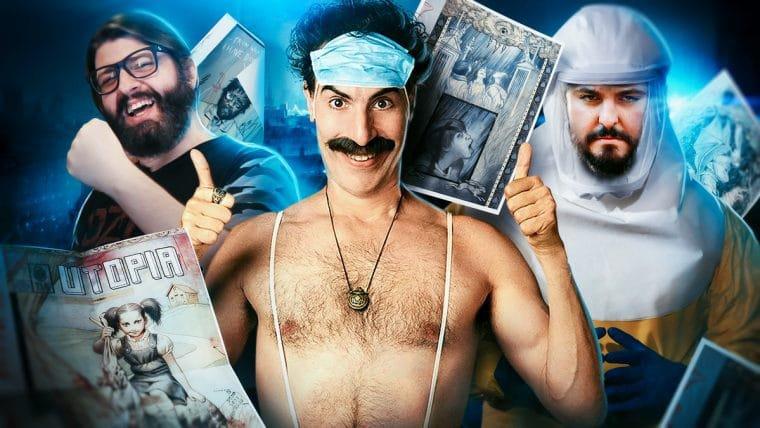 Utopia e Borat: o fim do mundo como conhecemos