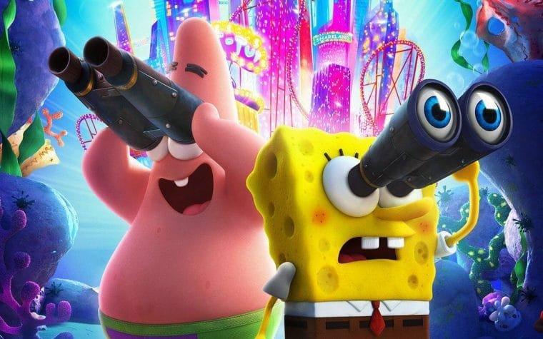 Filme do Bob Esponja estreia na Netflix em novembro