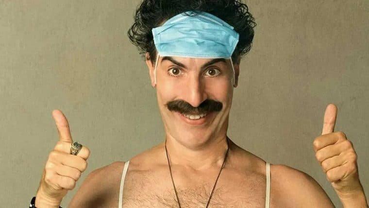 Borat foge de multidão enfurecida em cena deletada do novo filme; assista