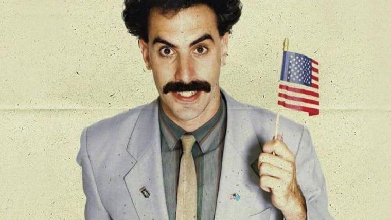 Borat comenta cena controversa do novo filme