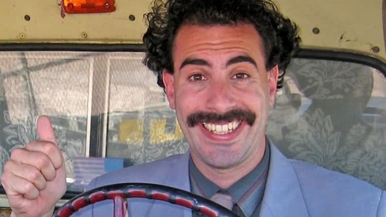 Sequência de Borat ganha data de estreia