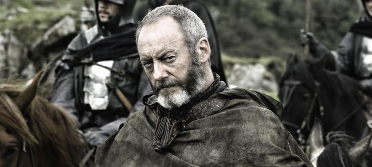 Game of Thrones | Liam Cunningham impediu que Davos se apaixonasse por Missandei