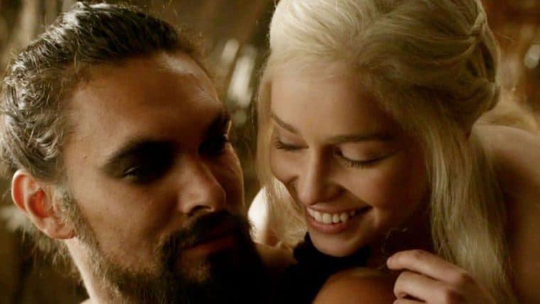 Game of Thrones   George R.R. Martin critica cena entre Khal Drogo e Daenerys