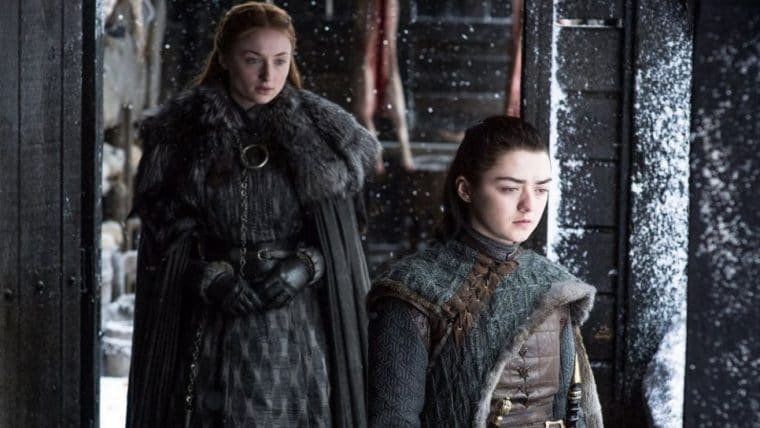 Game of Thrones   Produtores fizeram Sophie Turner e Maisie Williams chorar com pegadinha
