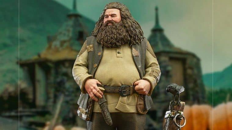 Harry Potter | Colecionável do Hagrid da Iron Studios é perfeito para o dia das bruxas
