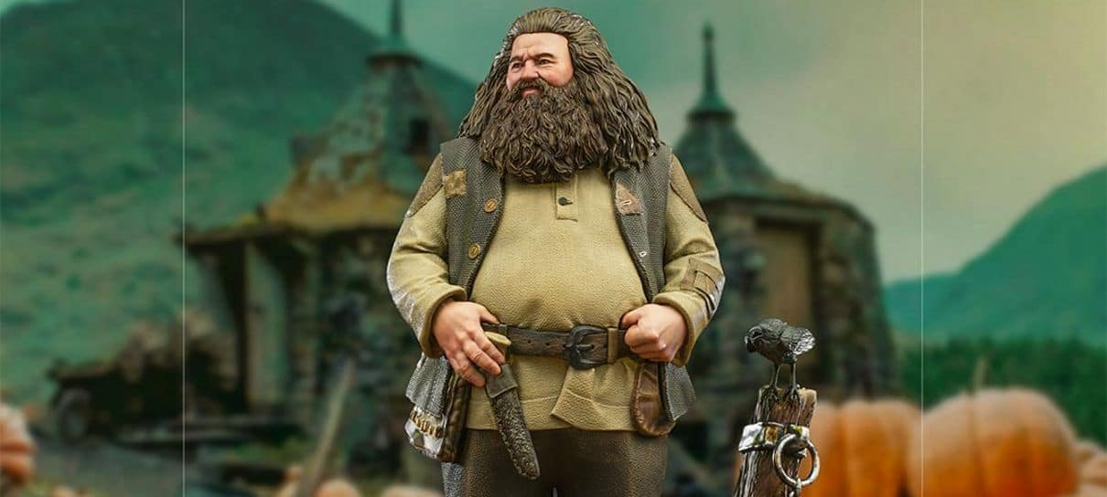 Harry Potter   Colecionável do Hagrid da Iron Studios é perfeito para o dia das bruxas