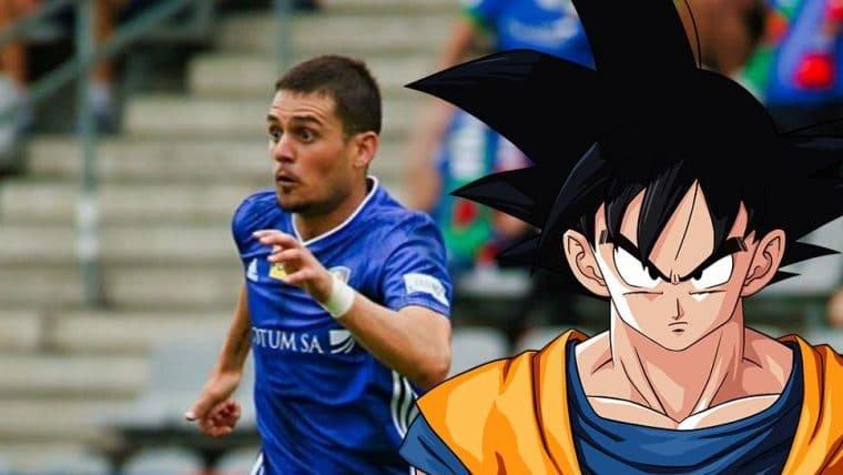 Jogador de futebol muda o próprio nome em homenagem a Dragon Ball