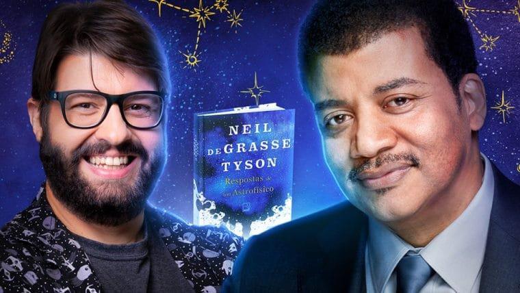 Jovem Nerd e Neil deGrasse Tyson conversam sobre a vida, o universo e tudo mais; assista
