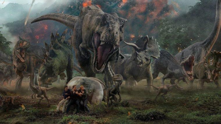 Jurassic World: Reino Ameaçado estreia na Netflix em novembro