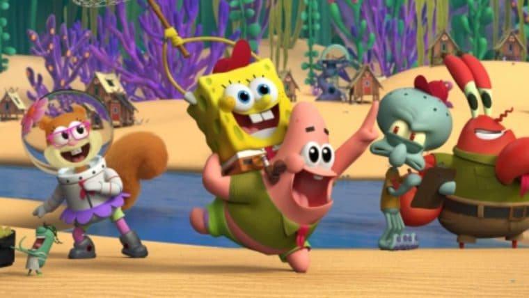 Kamp Koral   Confira a primeira imagem da série derivada de Bob Esponja