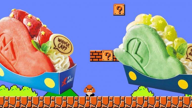 Enquanto o Super Nintendo World não chega, você pode comer quitutes do Mario