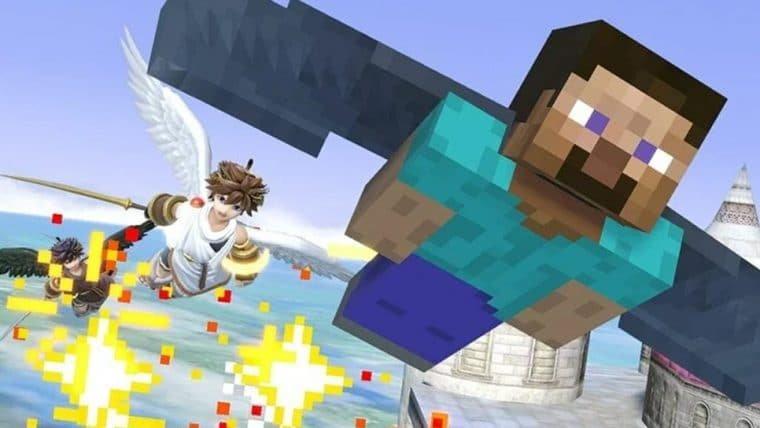 Nintendo e Mojang conversam sobre Minecraft no Smash Bros. há pelo menos cinco anos