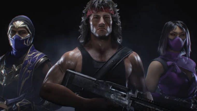 Mortal Kombat 11 | Trailer exibe poderes de Rambo, Mileena e Rain