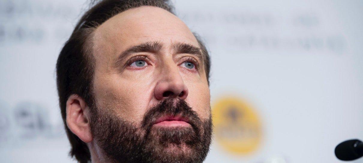 Arte conceitual mostra Nicolas Cage como Doutor Destino, do Quarteto Fantástico