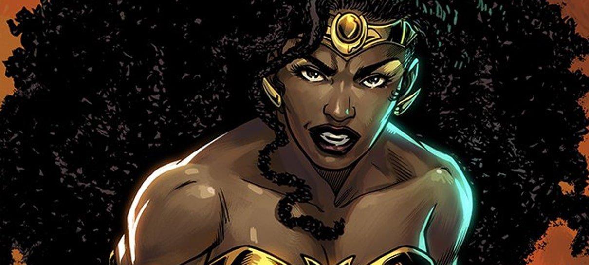 Nubia será Mulher-Maravilha em evento dos quadrinhos da DC