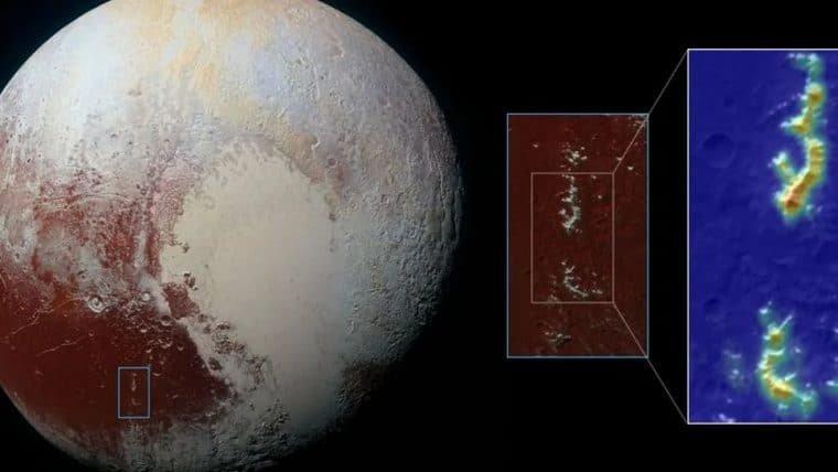 Plutão tem montanhas similares às da Terra em região conhecida como Cthulhu