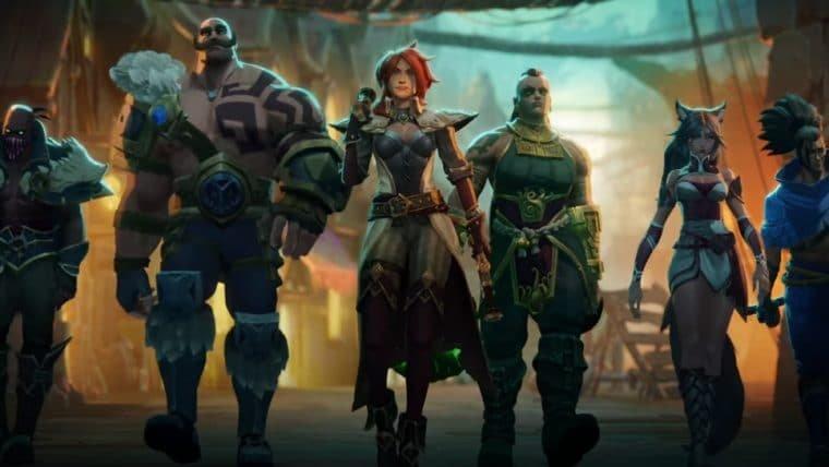 Ruined King: Uma História de League of Legends é anunciado para consoles e PC