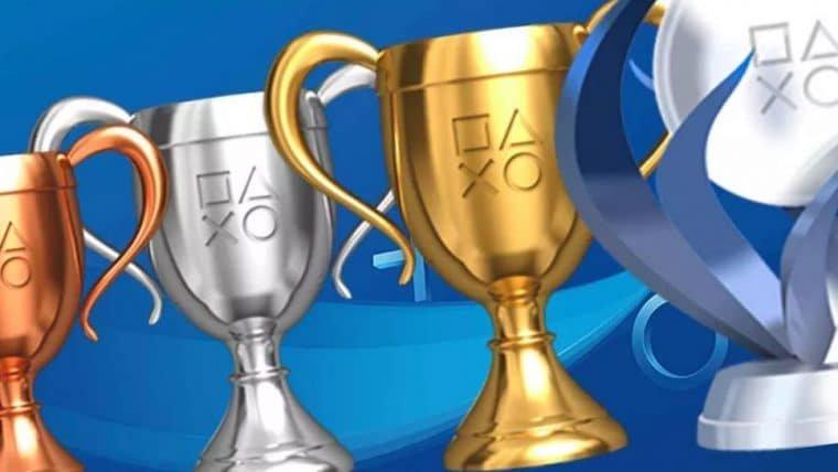 Sistema de troféus do PlayStation será alterado e nível dos jogadores vai mudar