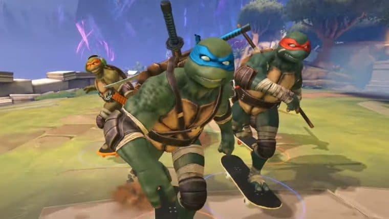 Deuses de Smite viram Tartarugas Ninja em novo evento crossover