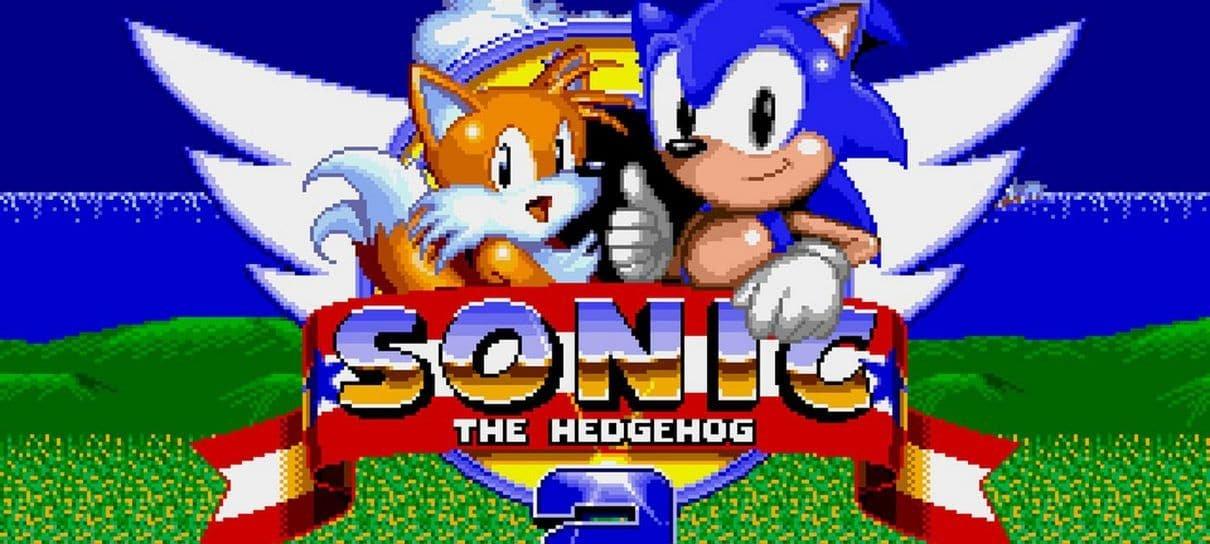 Sonic The Hedgehog 2 está de graça no Steam para celebrar os 60 anos da SEGA