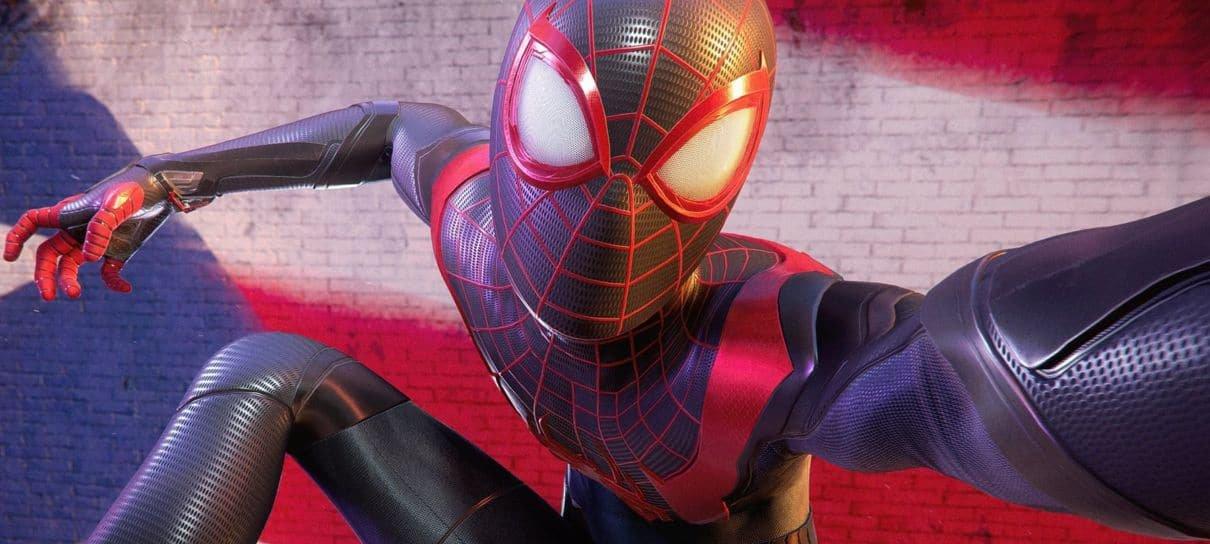 Spider-Man: Miles Morales | Peter e Miles aparecem juntos em nova imagem