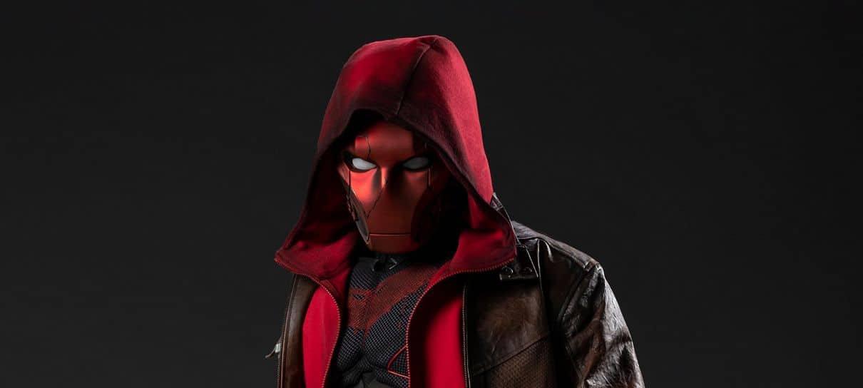 Titãs   Confira as primeiras imagens de Jason Todd como Capuz Vermelho