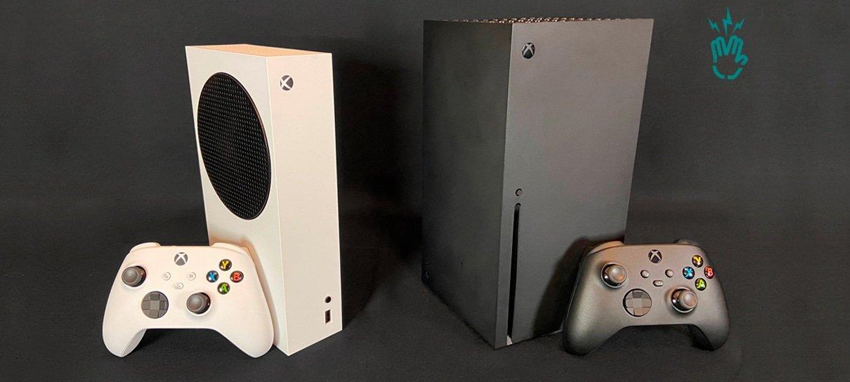 Confira nossas imagens do Xbox Series X e Xbox Series S fora da caixa