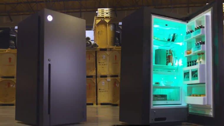 Xbox leva o meme a sério e cria uma geladeira no formato do Series X