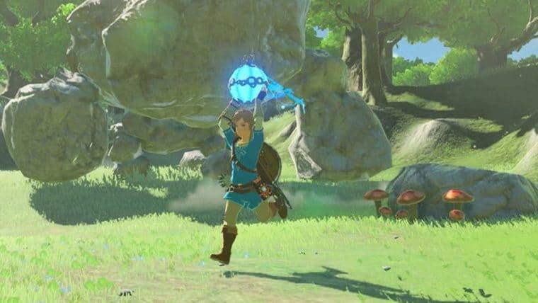 Modder coloca controles de movimento em The Legend of Zelda: Breath of the Wild