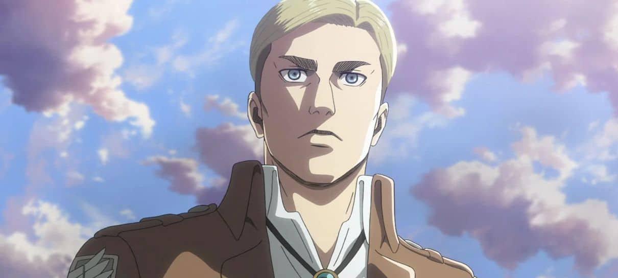 Attack on Titan | Confira a voz de Erwin na dublagem brasileira