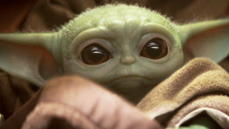 Bebê Yoda se junta a astronautas em voo tripulado da SpaceX