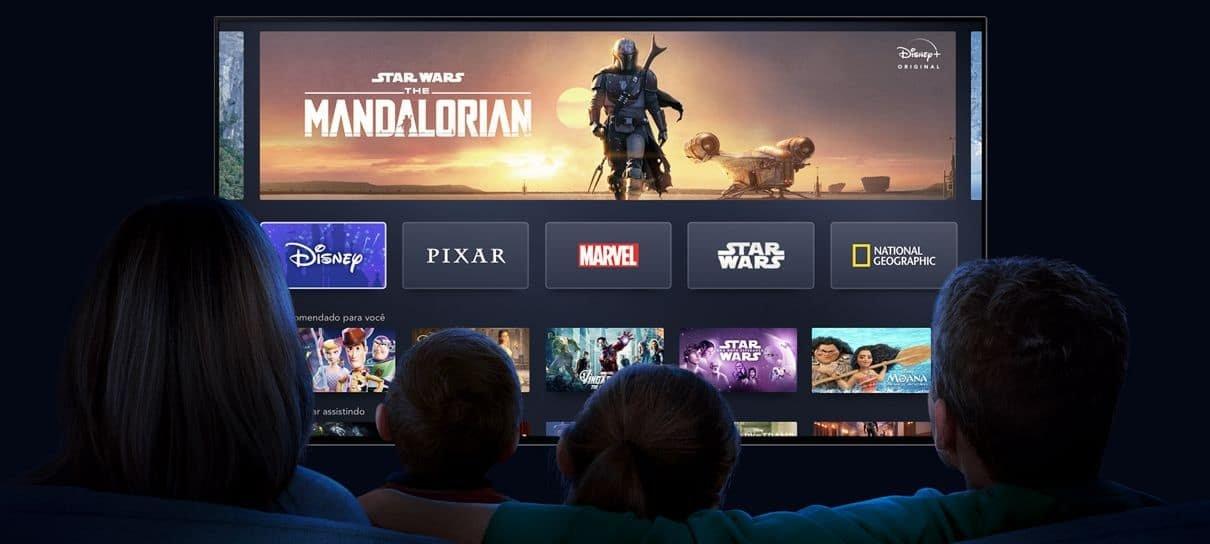 Disney Plus já está disponível no Brasil