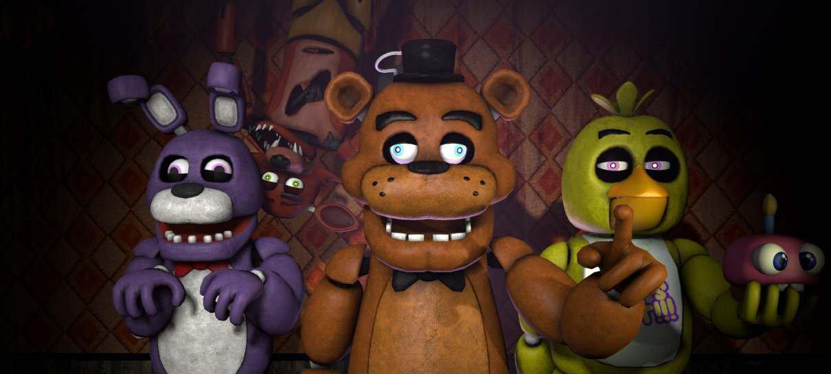Filme de Five Nights At Freddy's começará a ser gravado em 2021
