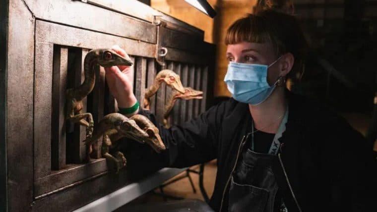 Após 18 meses e 40 mil testes de COVID-19, Jurassic World: Dominion encerra produção