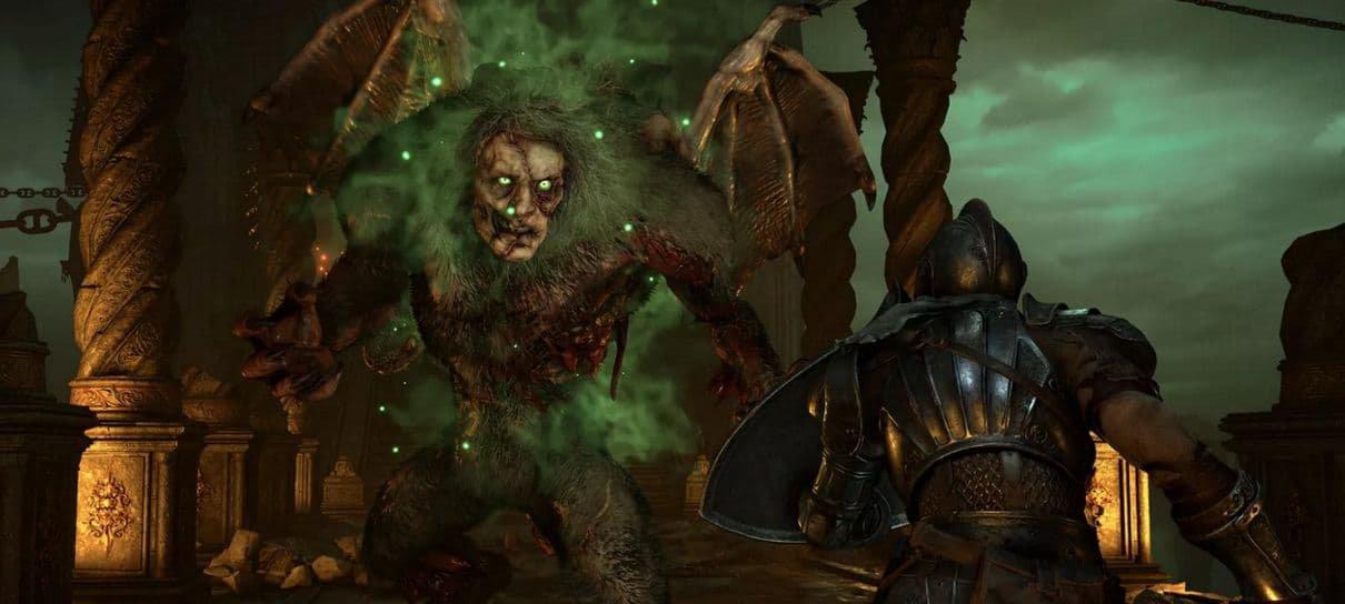 Jogador encontra maneira de matar chefões com um golpe no remake de Demon's Souls