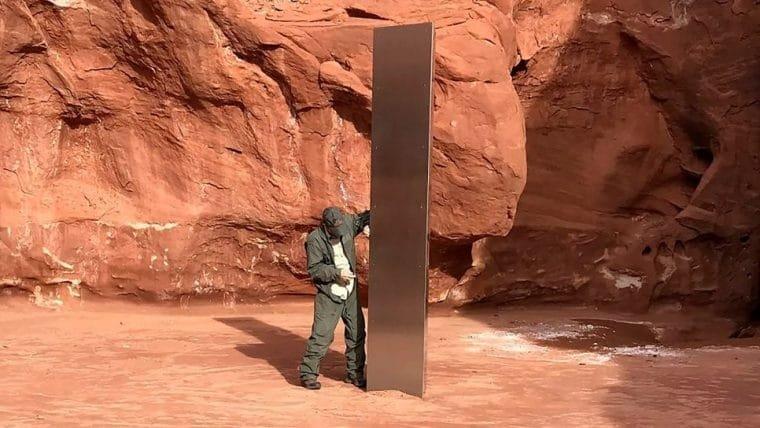 Monolito misterioso em Utah pode ser obra de um artista que morreu em 2011