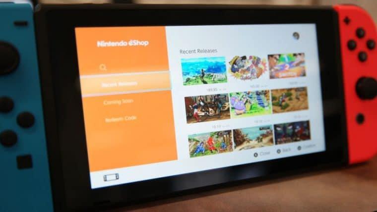 Nintendo eShop é anunciada para o Brasil e chega em dezembro com mais de 400 jogos