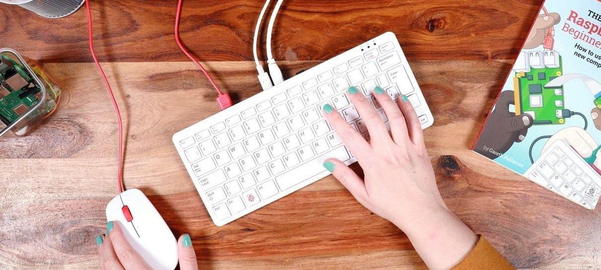Raspberry Pi lança teclado com computador integrado