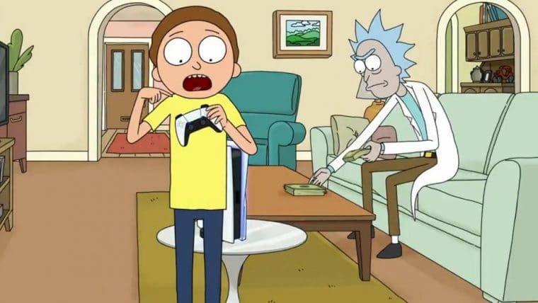 Rick and Morty | Personagens estrelam comercial de PlayStation 5 (ou quase isso)