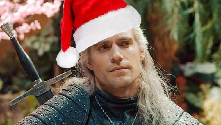 The Witcher | Geralt celebra o Natal em vídeo cheio de zoeira