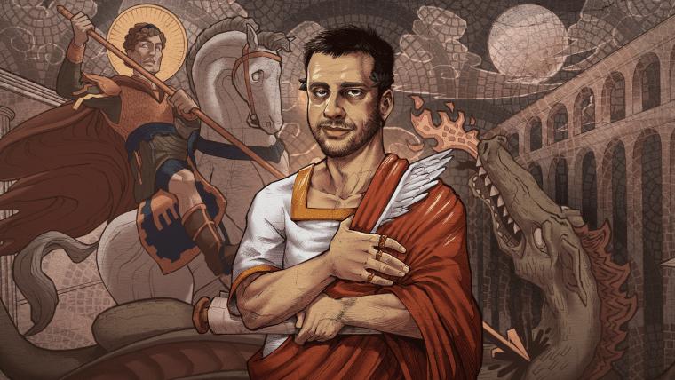 Roma bárbara e decadente