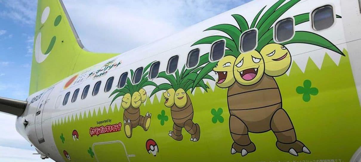 Já é possível capturar uma passagem para esses aviões temáticos de Pokémon