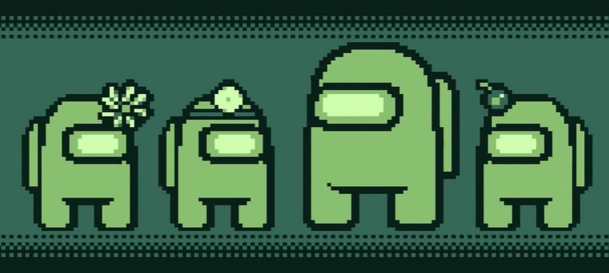 Video Imagina Among Us Como Um Jogo Antigo De Game Boy