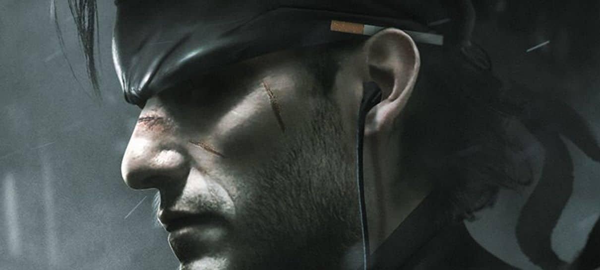 Arte de Bosslogic já tinha imaginado Oscar Isaac como Solid Snake lá em 2018